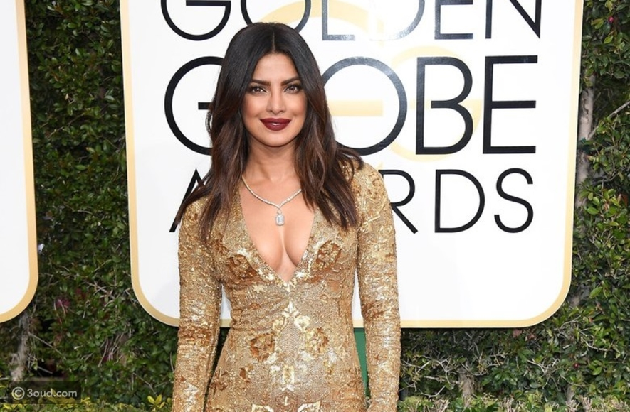Priyanka Chopra at the Golden Globes for the first time