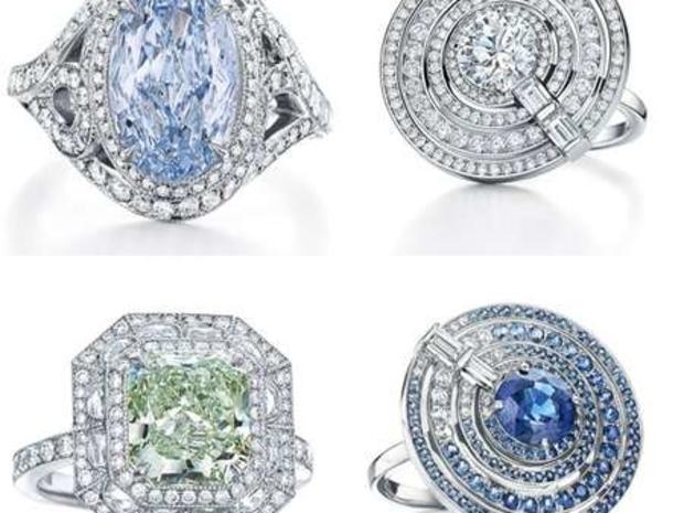 تيفاني اند كو تتحفنا بمجموعة من الماس الأزرق