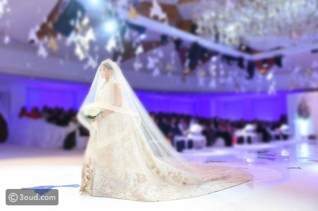 960760273bf77 Inside a magical Kuwaiti wedding ...حفلة الزفاف - عود