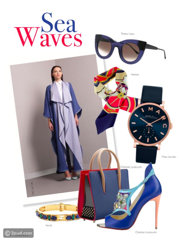 8988e05c706b1 زيني عباءتك بأجمل مكملات الأزياء في العدد الجديد من مجلة ليالينا ...