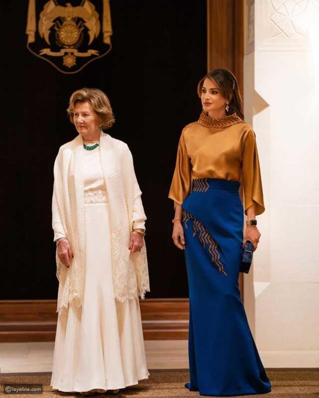 تعرف على دار Azzi & Osta الذي اختارت منه الملكة رانيا إطلالتها الأخيرة