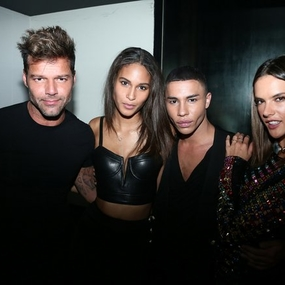 Balmain Spring 2017 Menswear After-Party