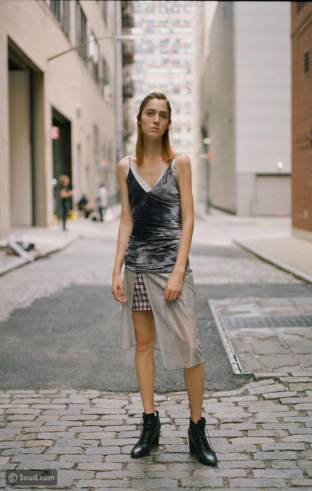 f6bbf78507c53 هكذا تظهر العارضات اثناء اسبوع الموضة في نيويورك - عود