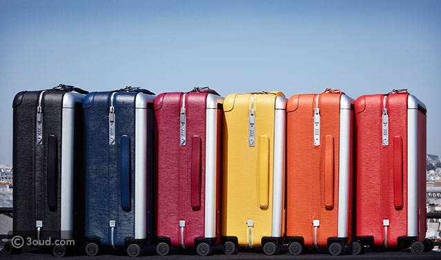 7f7d2a525479c 2016 سافري بأناقة مع حقائب السفر الملونة من لويس فيتون - عود