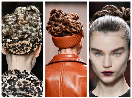 تنسيقات شعر ومكياج خاطفة في عروض أسبوع الموضة في ميلان