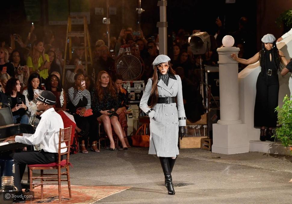 آشلي غراهام نجمة عرض تومي هيلفيغير في نيويورك