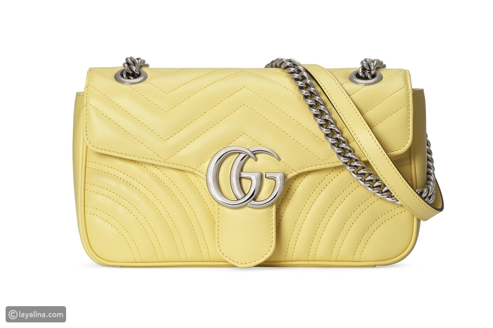 Gucci تعيد طرح حقيبتها GG Marmont 2.0