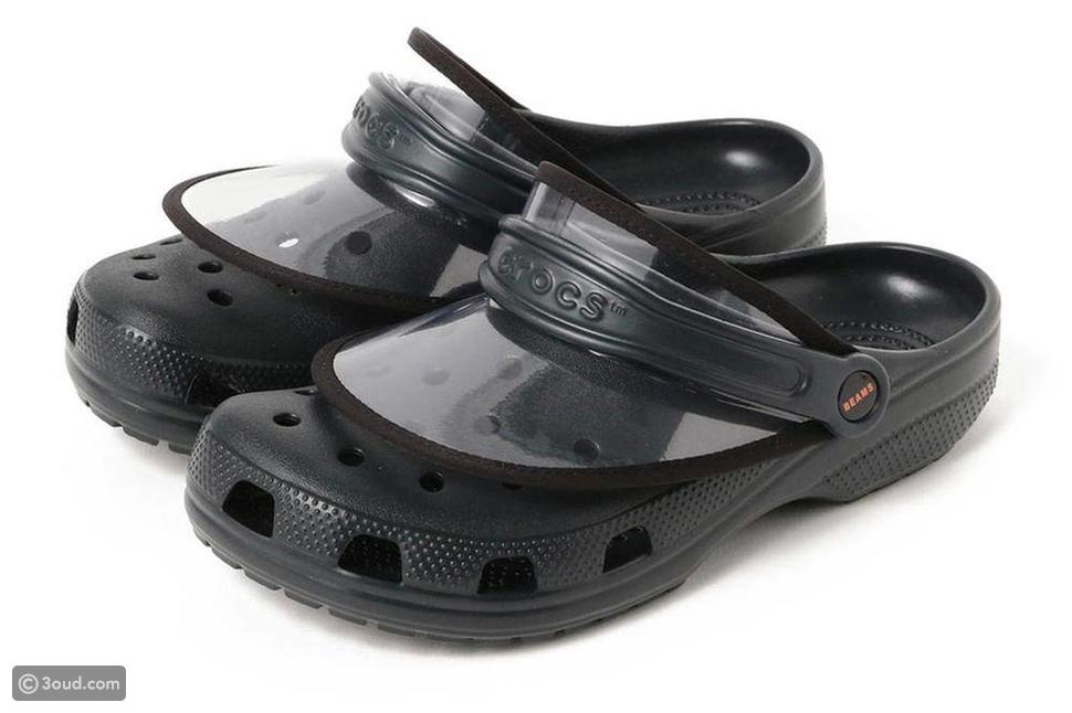"""جديد: حذاء """"كروكس"""" مع محفظة صغيرة خلف القدم"""