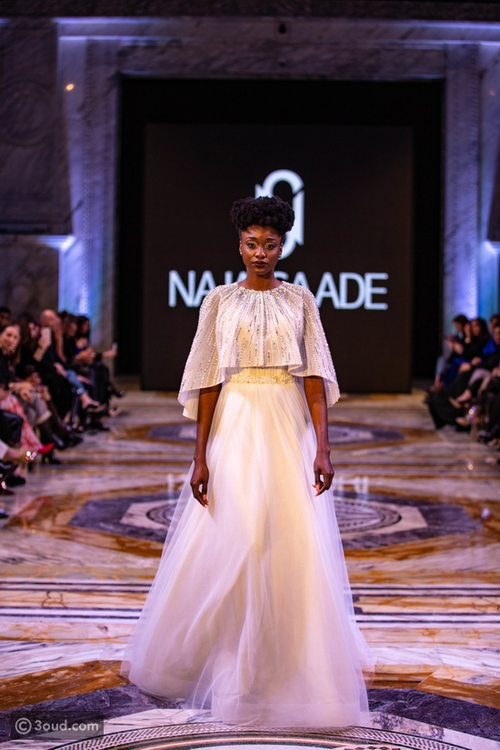 نجا سعادة يفتتح أسبوع الموضة في قطر بمجموعته لربيع 2020
