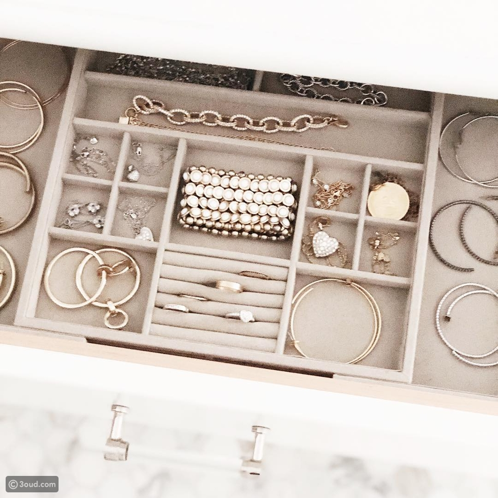 نصائح لتنظيم المجوهرات