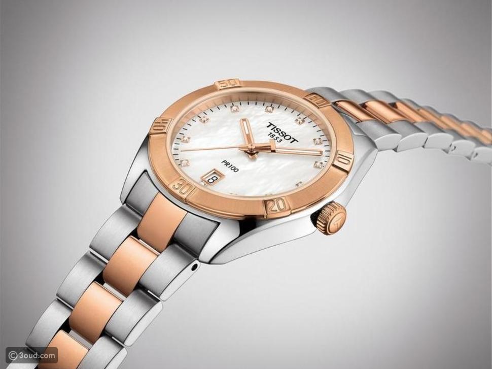 تعرفي إلى ساعة Tissot PR100 Lady Sport-Chic