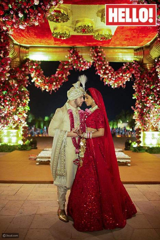الصور الرسمية الأولى من زفاف بريانكا شوبرا ونيك جوناس