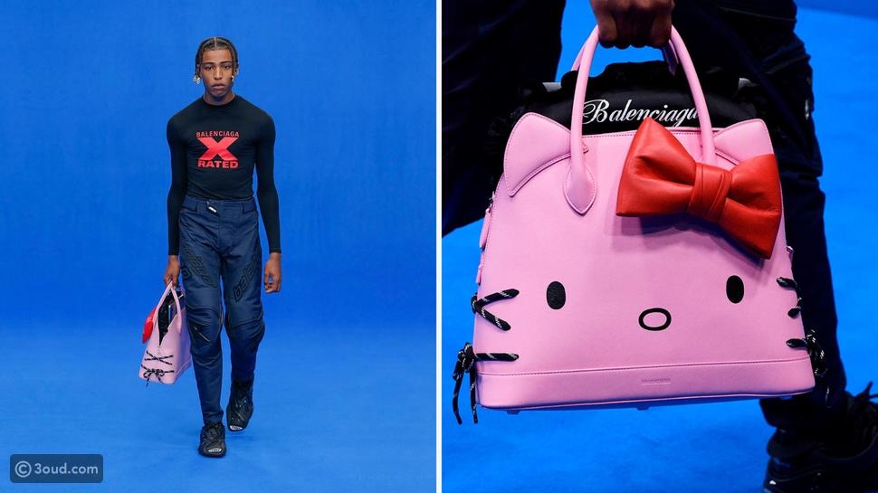 Balenciaga تكشف عن سعر حقيبة Hello Kitty وموعد طرحها في الأسواق
