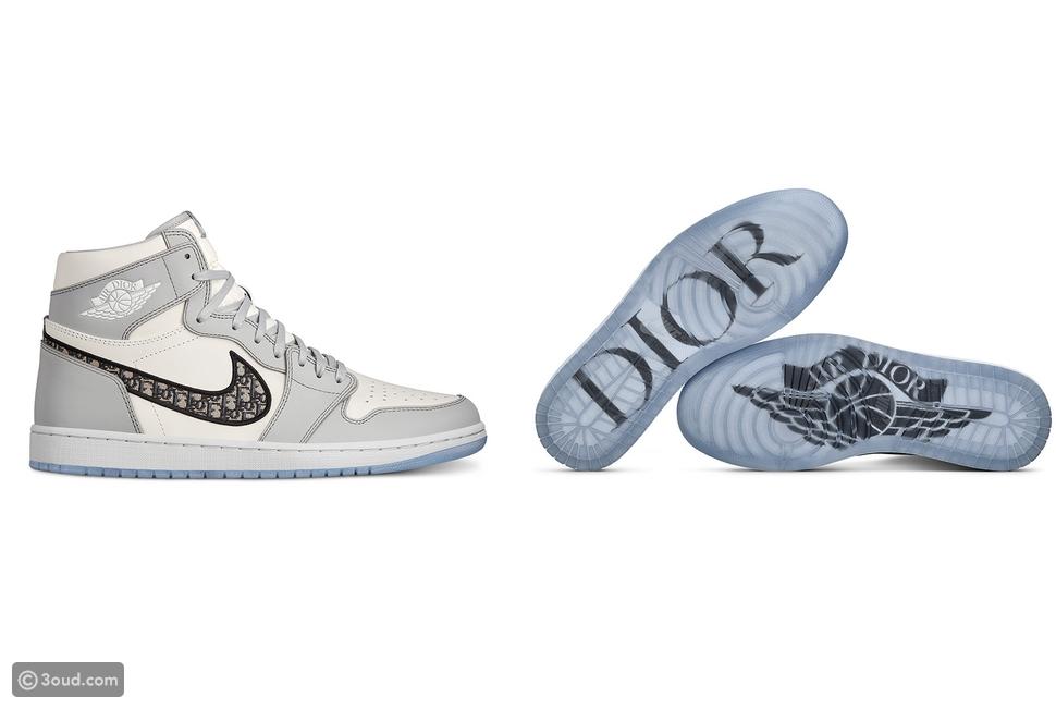 Dior تتعاون مع Jordan من أجل Sneakers جديد!