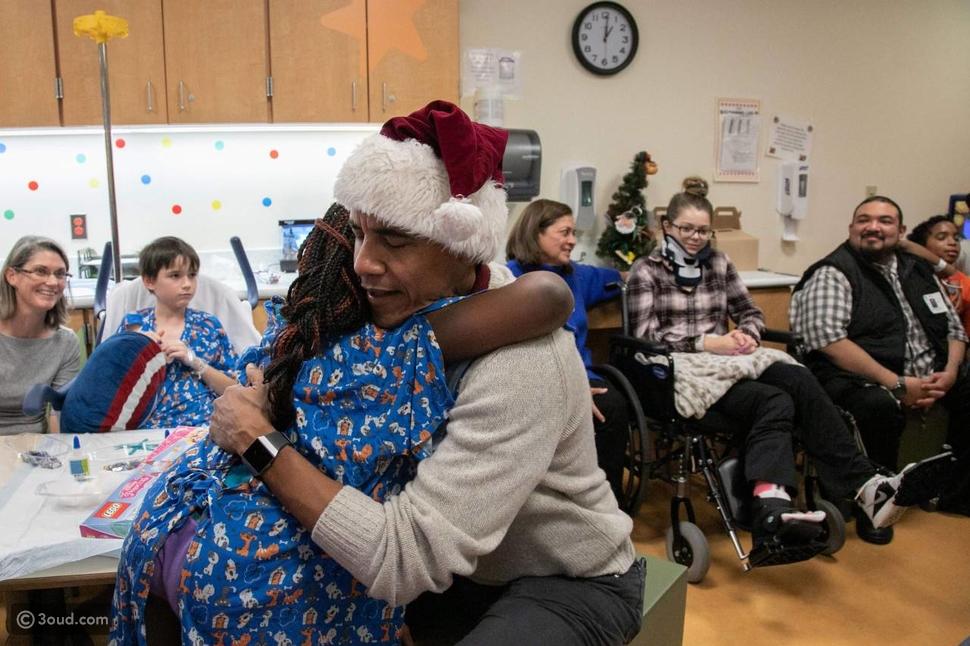 أوباما يدخل الفرح في قلوب الأطفال