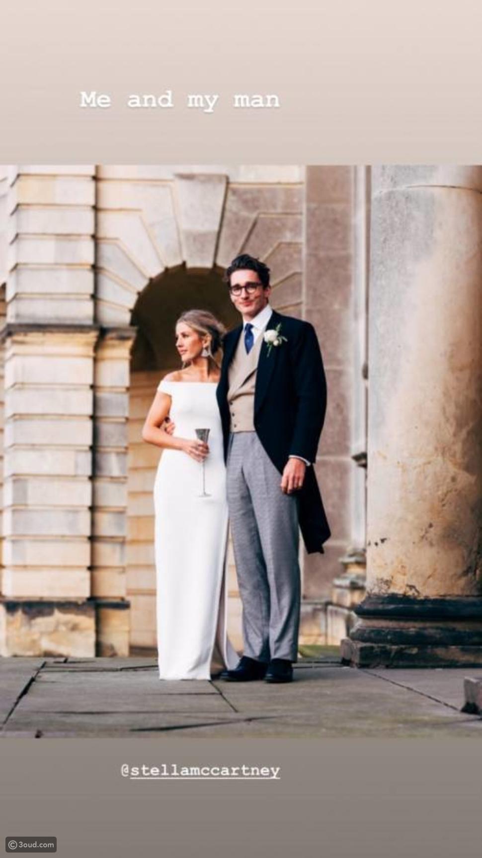لِم ارتدت آلي غولدينغ أربعة فساتين زفاف؟