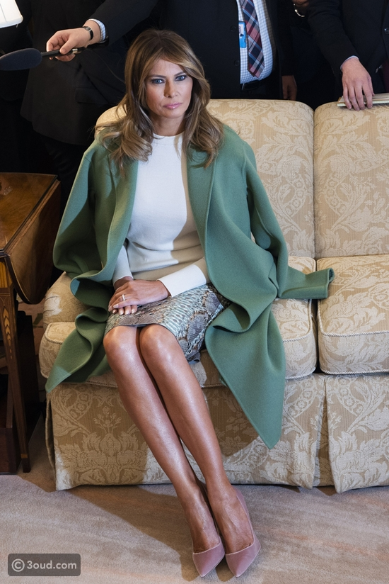 ميلانيا ترامب ترتدي تنورة ب7000 يورو