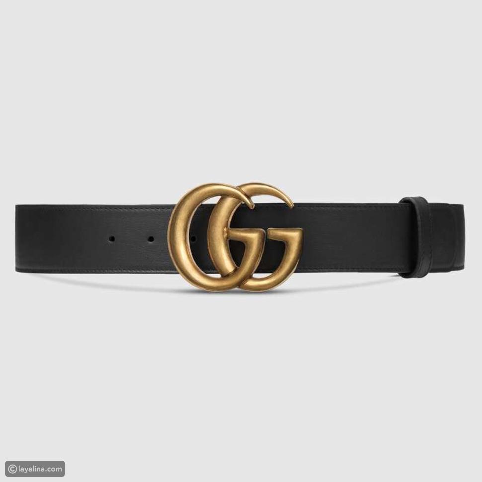 حزام Gucci يعود للصدارة من جديد