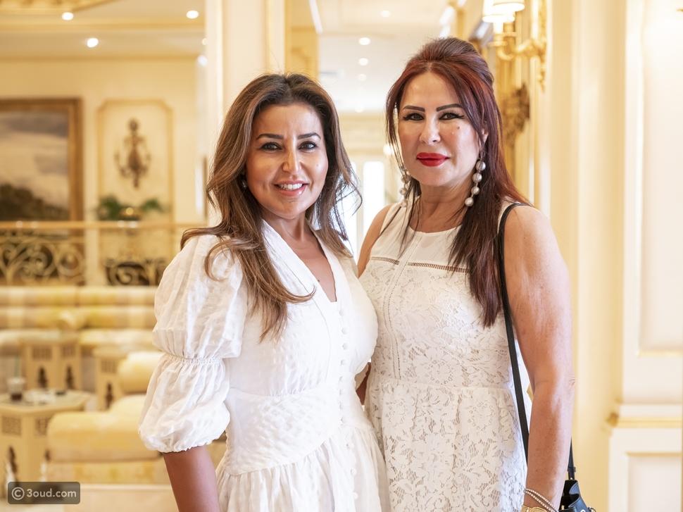 الشيخة هنوف البدر الصباح تقيم حفل غداء على شرف المصمم ماتياس