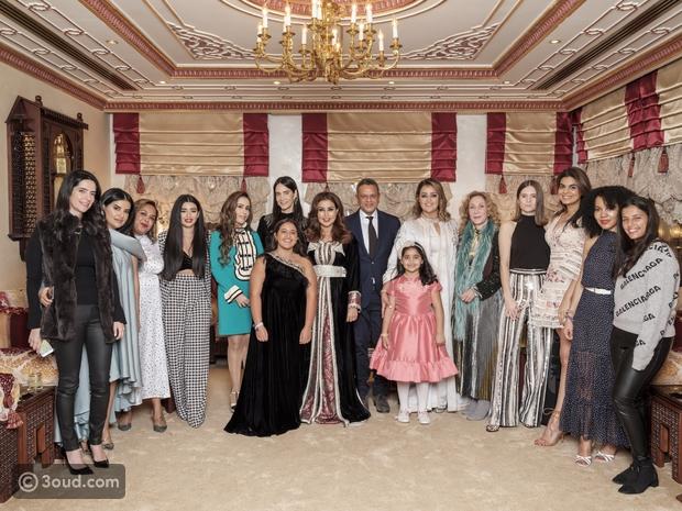 بالفيديوحفل عشاء الشيخة هنوف الصباح على شرف ضيوف Net-A-PorterX3oud.com
